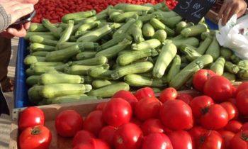 Επίσκεψη της μαγειρικής σχολής «Μαθήματα Μαγειρικής» στην αγορά βιοκαλλιεργητών Παλαιού Φαλήρου