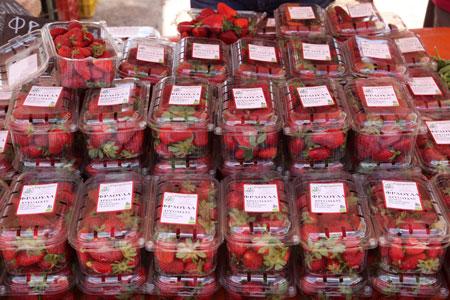Βιολογικές μαγιάτικες. Αυτές είναι φράουλες!