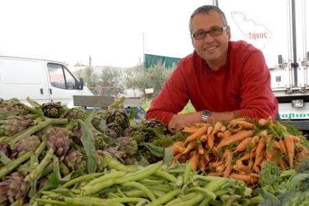 Φαβιανός Ρουγγέρης: Ο επίμονος βιοκαλλιεργητής