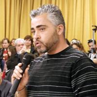 O Πρόεδρος του ΣΥ.Β.Α.Α. Μαΐστρος Καραμπάσης